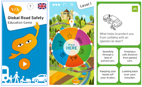 VIA road safety game